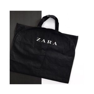 zara • full length garment bag